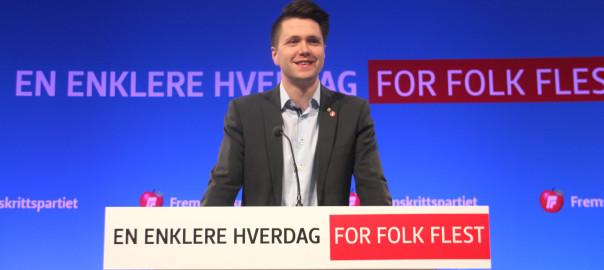 Bjørn-Kristian Svendsrud innstilt som ny FpU-formann
