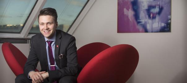 Bjørn-Kristian Svendsrud valgt som ny FpU-formann