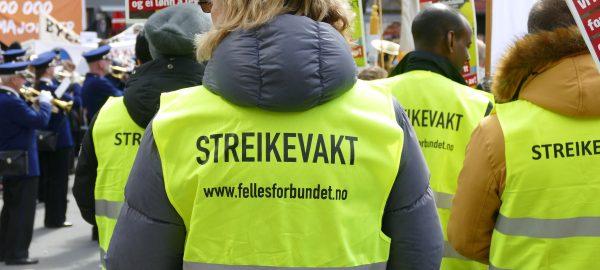 En streik mot arbeidsplasser