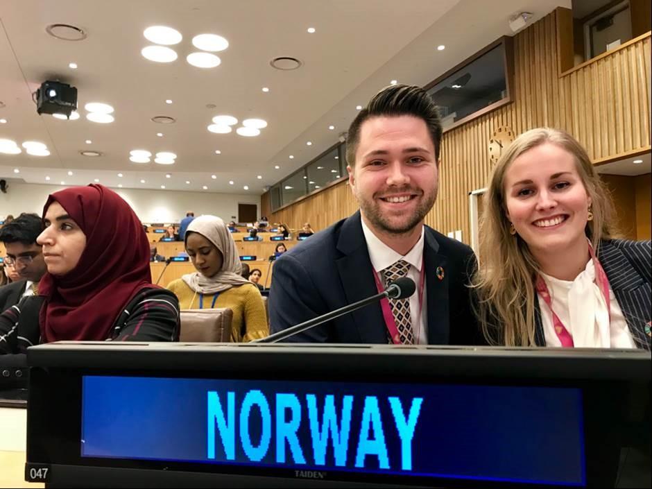 FpUs formann representerer Norge i FNs generalforsamling