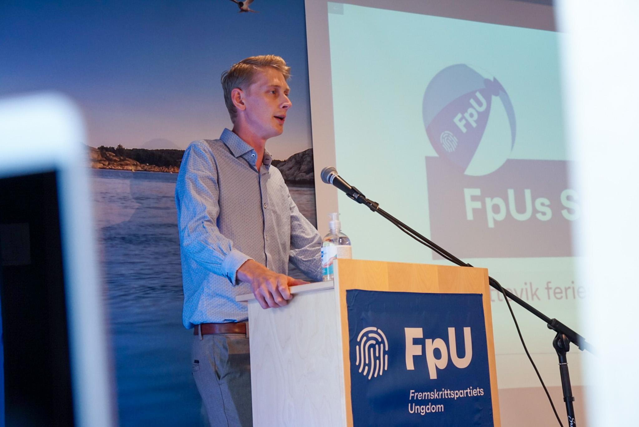 Brännström åpnet FpUs sommerleir